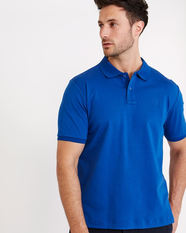 Paul Costelloe Living Regular Fit Mercerised Pima Cotton Polo