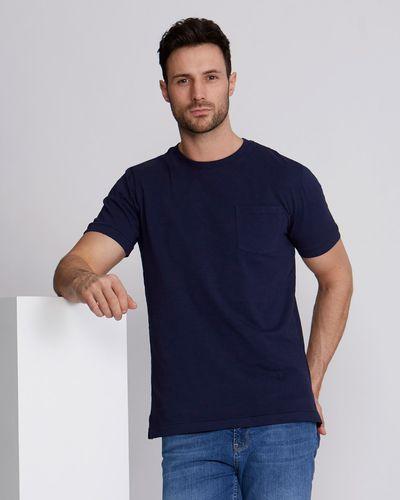 Paul Costelloe Living Garment Dyed Slub T-Shirt