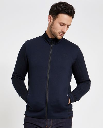 Paul Costelloe Living Navy Zip Through Jacket
