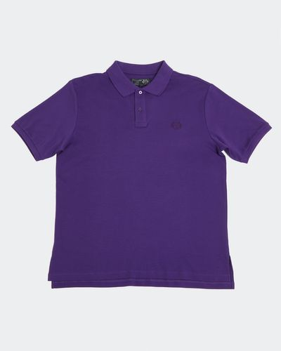 Paul Costelloe Living Purple Pima Polo