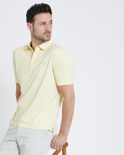 Paul Costelloe Living Yellow Modal Pique Polo Shirt