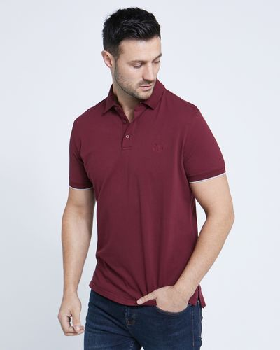 Paul Costelloe Living Wine Stretch Polo