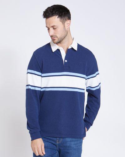 Paul Costelloe Living Blue Rugby Shirt