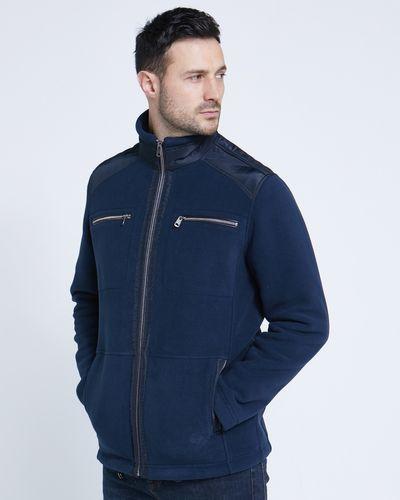 Paul Costelloe Living Navy Fleece Jacket