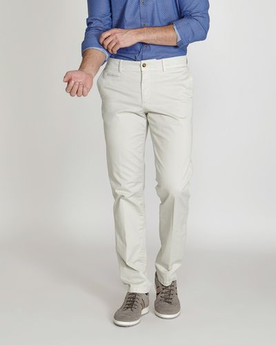 Paul Costelloe Living Lightweight Stretch Chinos (Made in Spain)