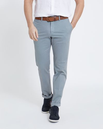 Paul Costelloe Living Grey Textured Trousers thumbnail
