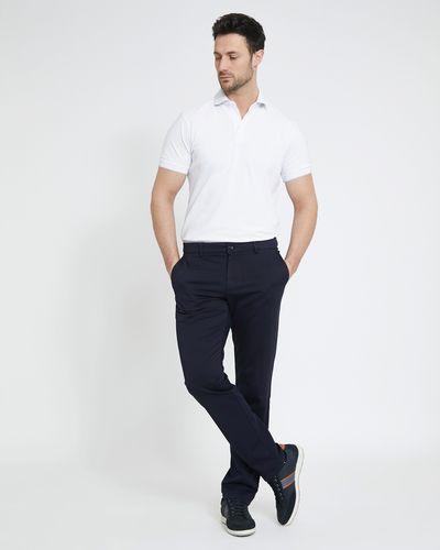 Paul Costelloe Living Navy Light Chino Trousers