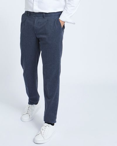 Paul Costelloe Living Denim Twill Trousers