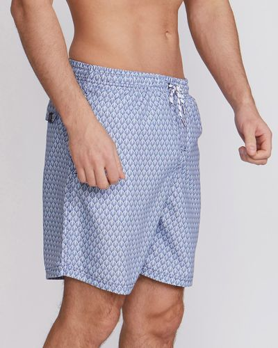 Paul Costelloe Living Geo Print Swimshort