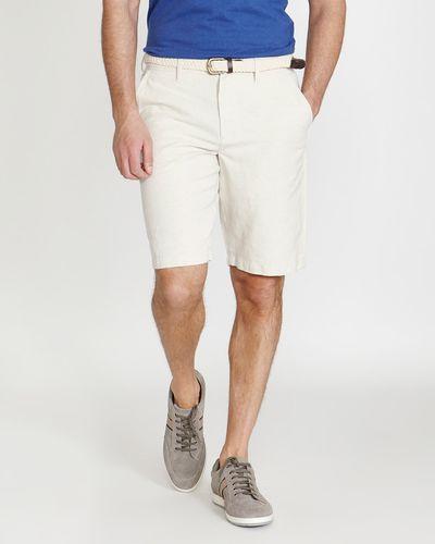 Paul Costelloe Living Linen Blend Shorts