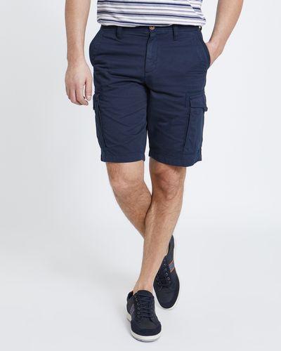 Paul Costelloe Living Navy Cargo Shorts