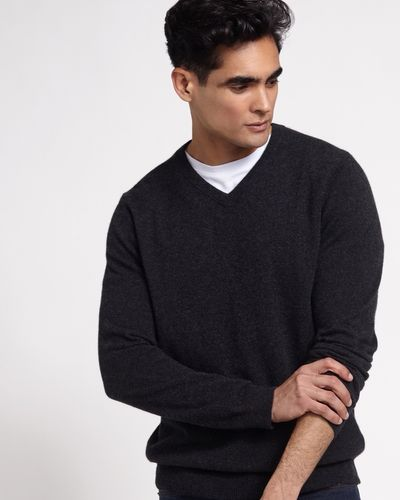 Paul Costelloe Living Cashmere V-Neck Jumper