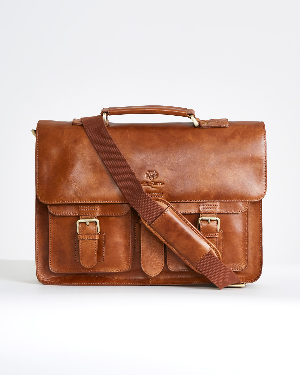 957830fca7bb Paul Costelloe Living Leather Briefcase