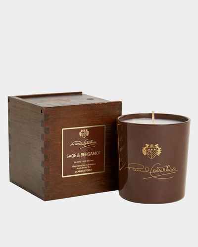 Paul Costelloe Living Wooden Boxed Candle