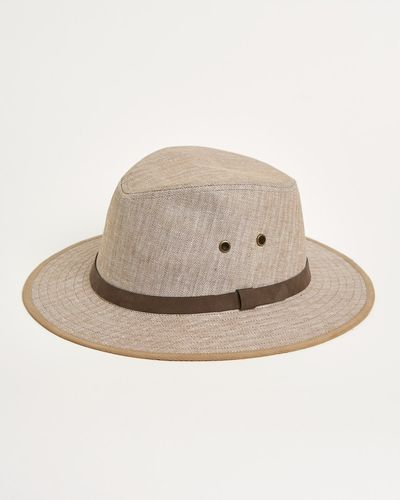 Paul Costelloe Living Irish Linen Ambassador Hat