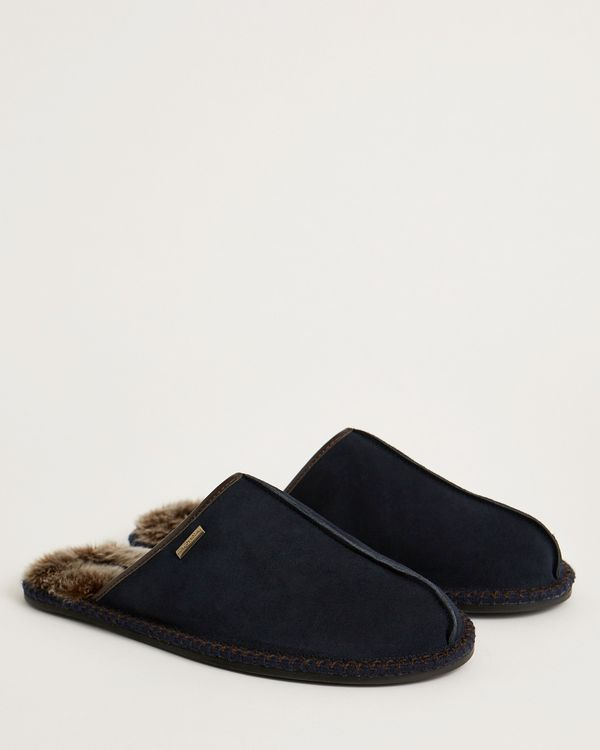Paul Costelloe Living Suede Mule Slippers