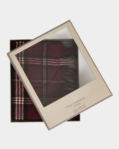 Paul Costelloe Living Boxed Lambswool Scarf