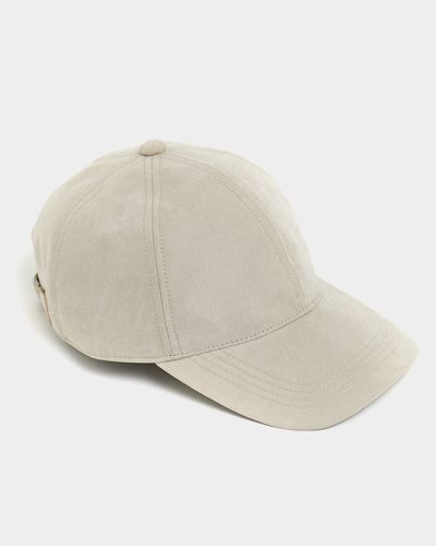 Paul Costelloe Living Stone Suede Baseball Cap thumbnail