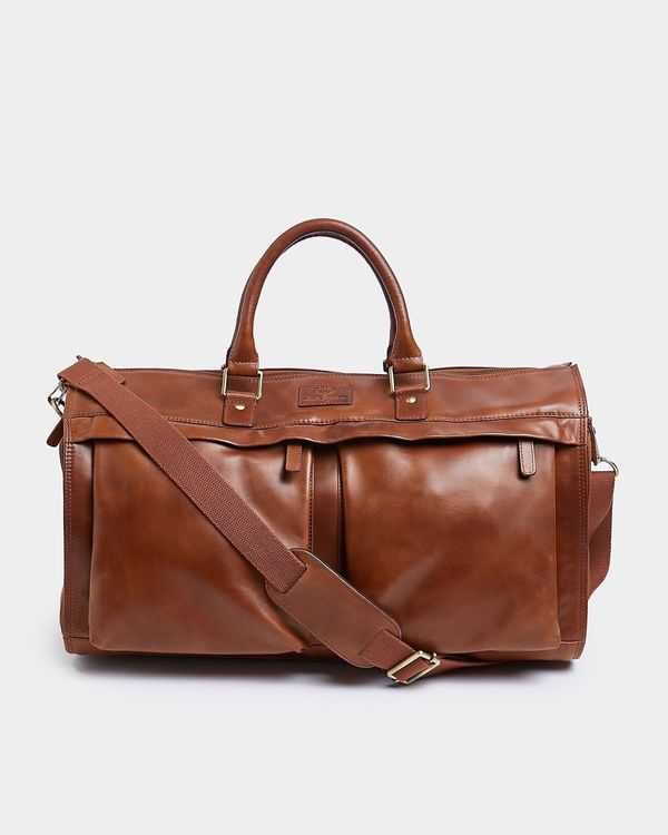Paul Costelloe Living Fold Down Leather Bag