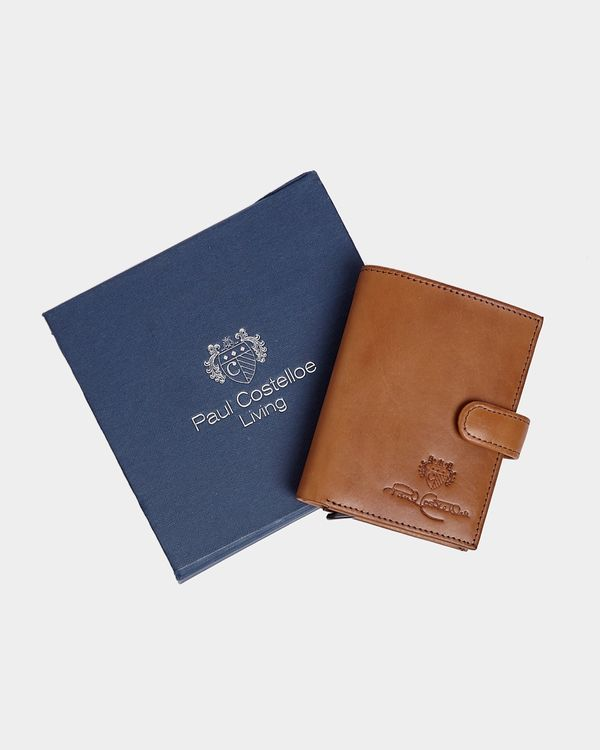Paul Costelloe Living Pop-Up Leather Boxed Wallet