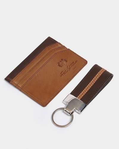 Paul Costelloe Living Card Holder And Key Fob Set