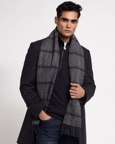 Paul Costelloe Living Boxed Double Faced Wool Scarf thumbnail