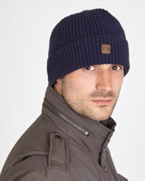 navy Paul Costelloe Living Knitted Beanie