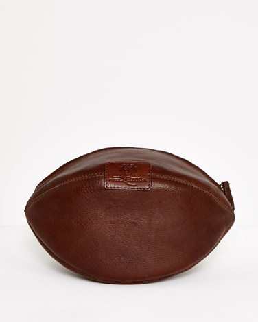 Paul Costelloe Living Rugby Leather Washbag