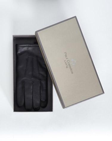 blackPaul Costelloe Living Black Boxed Leather Glove