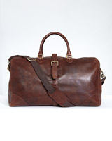 brown Paul Costelloe Living Leather Holdall