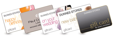 Image of 5 gift cards