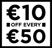 Dunnes Stores €10 off €50 promotion