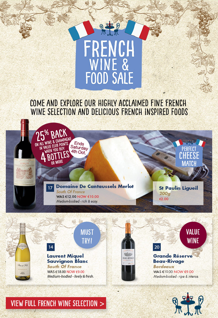 French Food and Wine | French Food and Wine | Dunnes Stores