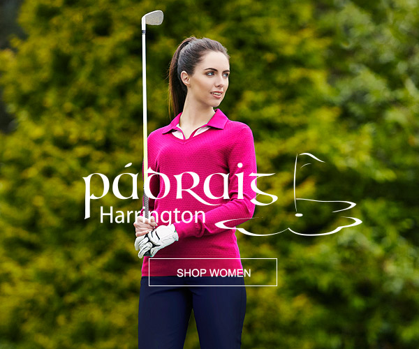 Padraig Harrington Women