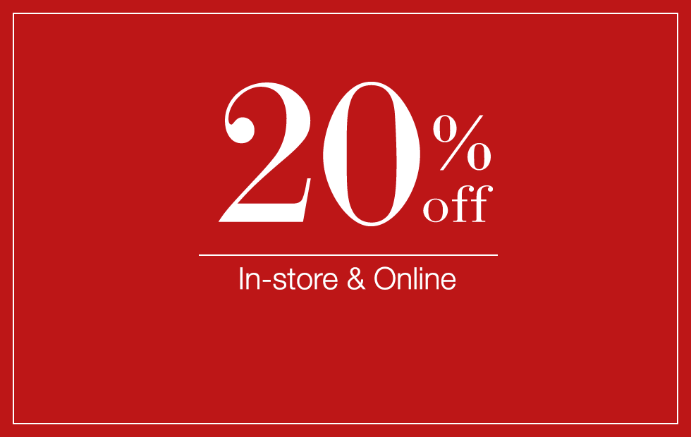 20% Off All Fashion & Home